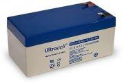 ULTRACELL 12V 3,4Ah zselés biztonságtechnikai, riasztórendszer akkumulátor, riasztó akku
