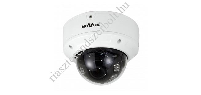 Novus NVIP-5DN3614V/IR-1P 5 MP-es arcfelismerő IP dome kamera, 2,8-12 mm varifokális optikával, IRM 30m, H.264, MJPEG/G.711